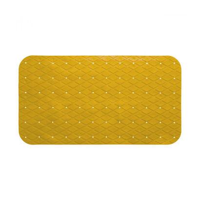 alfombra-interior-ducha-antideslizante-pvc-rectangular-mostaza-69x39cm