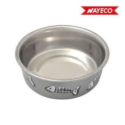 comedero-gato-baltic-12cm-300ml-gris-nayeco