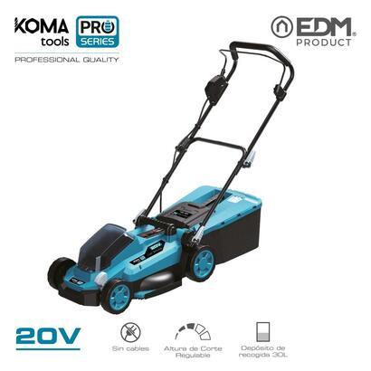 cortacesped-20v-sin-bateria-y-cargador-koma-tools-pro-series-battery-edm