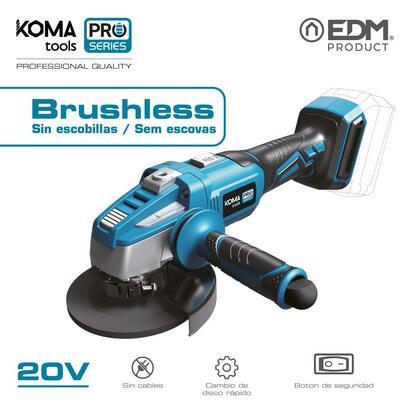 amoladora-125mm-20v-brushless-sin-bateria-y-cargador-koma-tools-pro-series-battery-edm