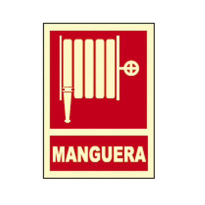 cartel-senal-manguera-fotoluminiscente-homologado