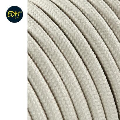 cable-cordon-tubulaire-2x075mm-algodon-25mts-euromts
