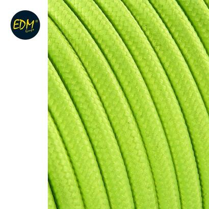 cable-cordon-tubulaire-2x075mm-fluor-amarillo-25mts-euromts