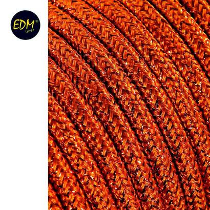 cable-cordon-tubulaire-2x075mm-marron-brillante-25mts-euromts