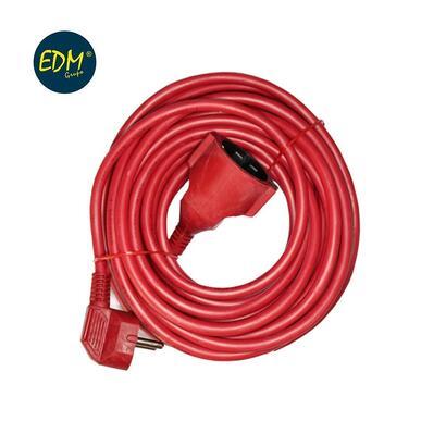 prolongacion-manguera-ttl-10mts-3-x-15-flexible-roja-edm