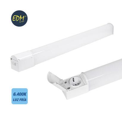 ultunidades-regleta-led-20w-1800-lumens-6400k-luz-fria-con-base-schuko-y-tapa-ip44-edm