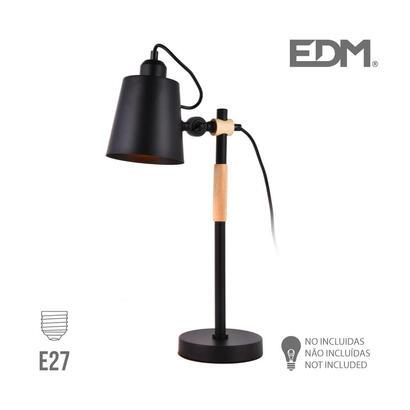 flexo-simple-e27-negro-edm