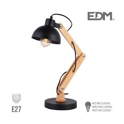 flexo-arquitecto-e27-negro-edm