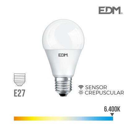 bombilla-crepuscular-standard-led-e27-10w-800-lm-6400k-luz-fria-edm