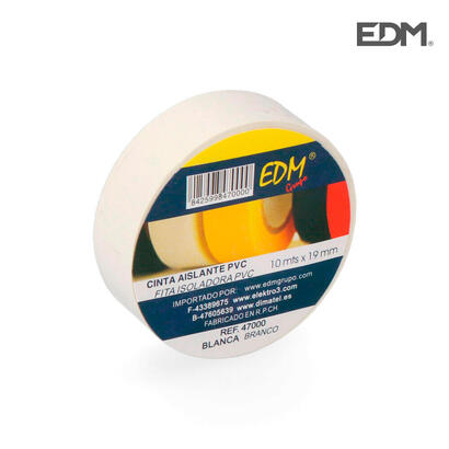 cinta-aislante-10m-x-19mm-blanca-edm