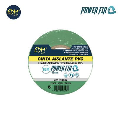 cinta-aislante-10m-x19mm-verde-edm