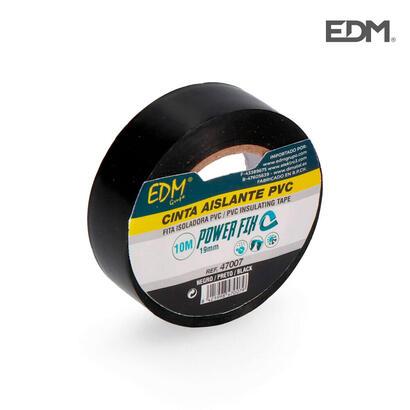 cinta-aislante-10m-x19mm-negra-edm