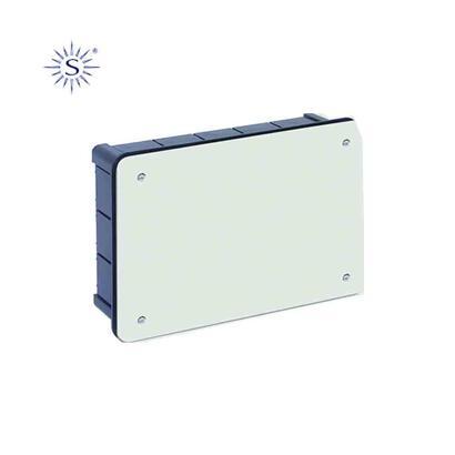 caja-rectangular-300x200x60mm-con-tornillos-retractilado-solera
