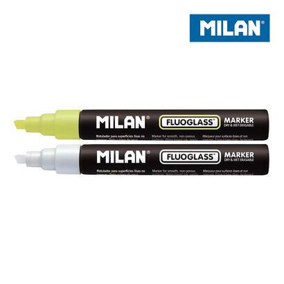 blister-2-rotuladores-amarillo-blanco-fluoglass-2-4mm-milan