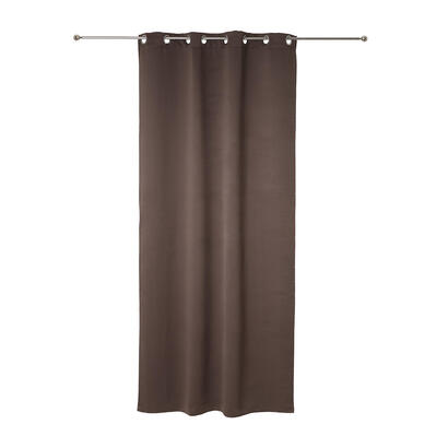 cortina-opaca-con-ollaos-color-marron