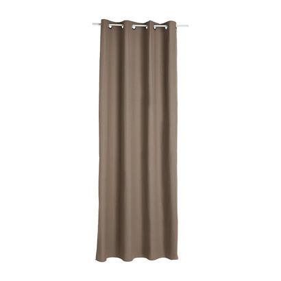 cortina-con-ollaos-color-marron