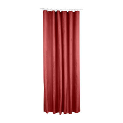 cortina-de-bano-polyester-color-terra-cota-180x200cm