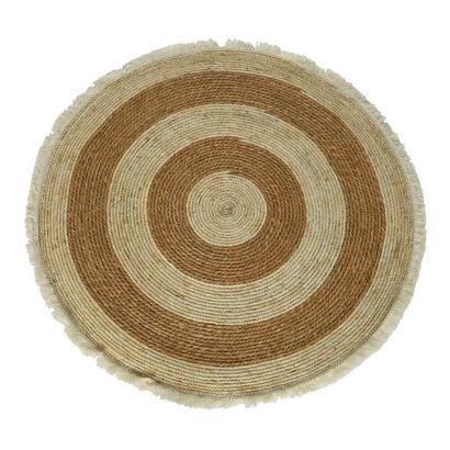 alfombra-fibra-coco-redonda-100cm-marron