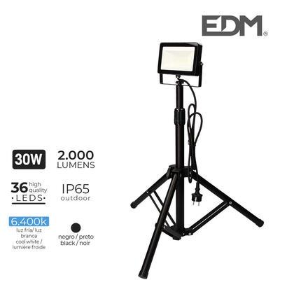 foco-proyector-led-con-tripode-30w-6400k-2000-lumens-edm