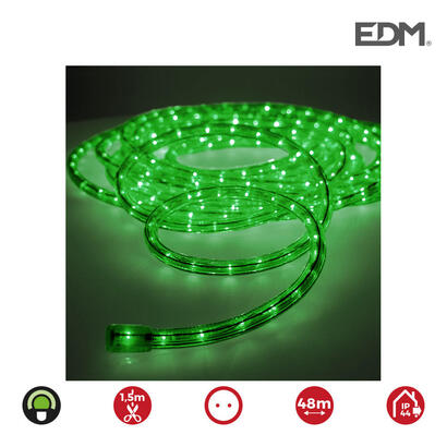 tubo-flexilux-verde-2-vias-multifuncion-interior-exterior-edm-euromts