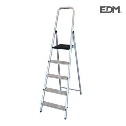 escalera-domestica-aluminio-5-peldanos-edm