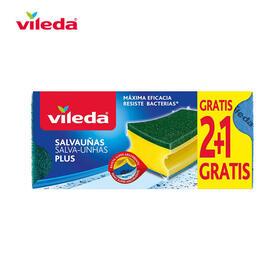 salvaunas-antibacterias-21-estropajo-con-bayeta-162589-vileda