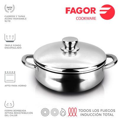 tartera-inox-silverinox-o24cm-acero-inoxidable-1810-fagor