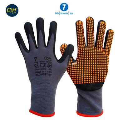 guante-soporte-nylon-y-recubrimiento-punteado-de-nitrilo-talla-7-edm