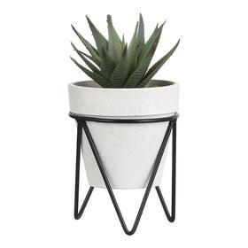 ultunidades-planta-cactus-en-macetero-metalico