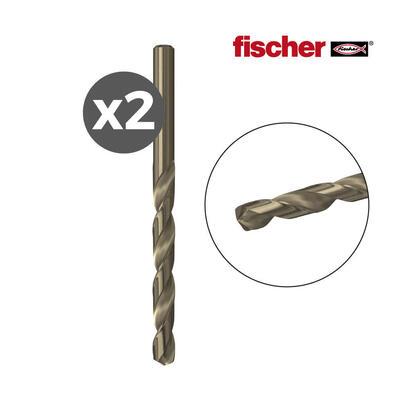 pack-2-brocas-metal-hss-co-15x1840-2k-fischer