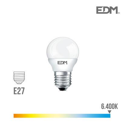 bombilla-esferica-led-e27-5w-400-lm-6400k-luz-fria-edm