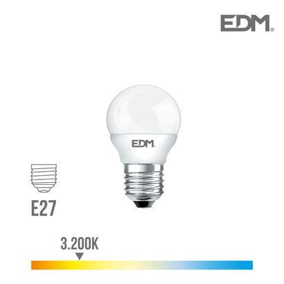 bombilla-esferica-led-e27-5w-400-lm-3200k-luz-calida-edm