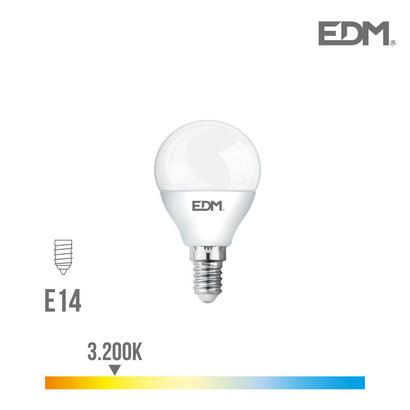 bombilla-esferica-led-e14-5w-400-lm-3200k-luz-calida-edm