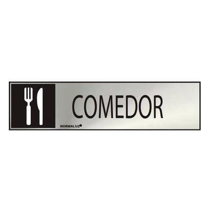 cartel-informativo-comedor-inox-adhesivo-08mm-5x20cm