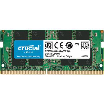memoria-crucial-sodimm-ddr4-16gb-2666-mts-260pin-dr-x8-unbuffered