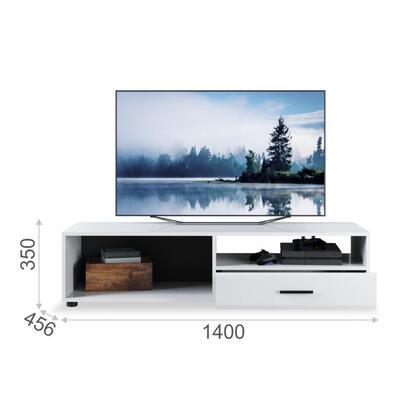 mueble-tv-tuckano-140x35x45-canada-blanco-brillo-intenso