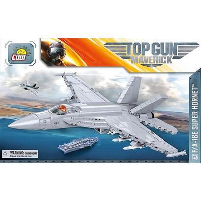 cobi-top-gun-5804-fa-18e-super-hornet-565-piezas