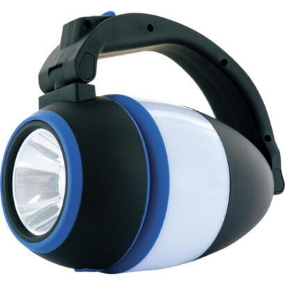 schwaiger-lampara-de-camping-led-3-en-1-negro-azul
