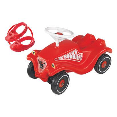 big-bobby-car-classic-rojo-con-ruedas-silenciosas-y-protector-de-zapatos