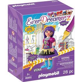 playmobil-everdreamerz-comic-world-viona-28-piezas