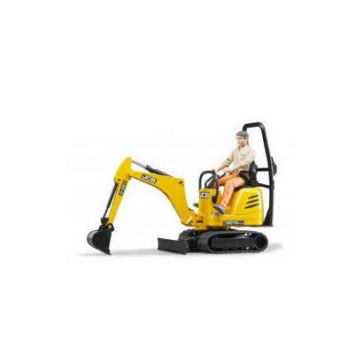 bruder-62002-jcb-micro-excavadora-8010-cts-y-conductor-juguete
