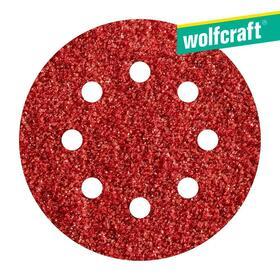 5-hojas-de-lijar-adhesivas-corindon-grano-80-perforadas-o125-mm-wolfcraft