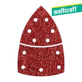 10-hojas-de-lijar-adhesivas-corindon-grano-80-perforadas-triangular-wolfcraft