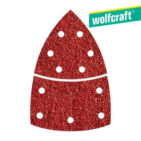 10-hojas-de-lijar-adhesivas-corindon-grano-120-perforadas-triangular-wolfcraft