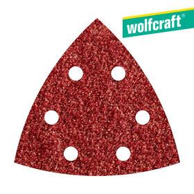 5-hojas-de-lijar-adhesivas-corindon-grano-80-perforadas-95mm-wolfcraft