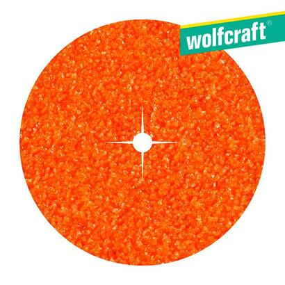 10-discos-de-papel-abrasivo-de-corindon-grano-40-o125-wolfcraft