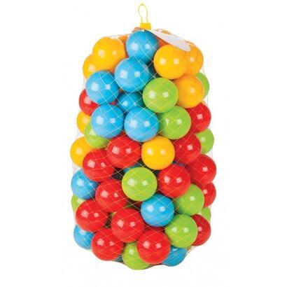 jamara-bolas-para-piscina-de-bolas-happy-balls-90mm-ve100-100-bolas