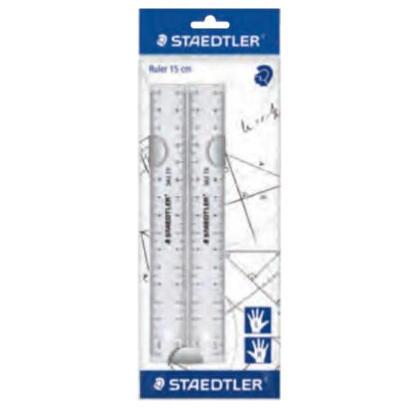 reglas-staedtler-15-cm-plastico-transparente