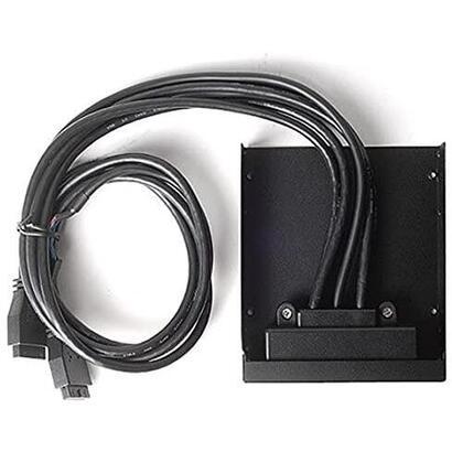silverstone-sst-fp32b-e-panel-frontal-35-4x-usb-30-con-audio-hd-negro
