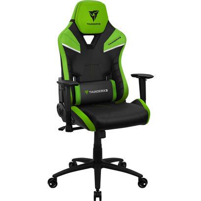 silla-gaming-thunderx3-tc5bg-negra-y-verde